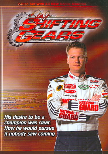 DALE EARNHARDT JR:SHIFTING GEARS BY EARNHARDT,DALE JR. (DVD)